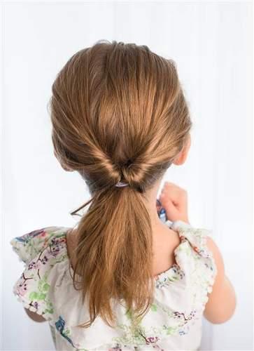 عقد الشعر بشكل مميز
