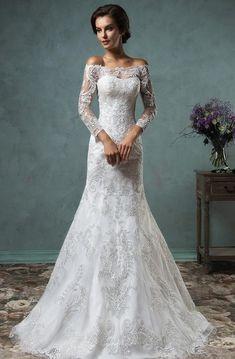فستان الزفاف ماكسي