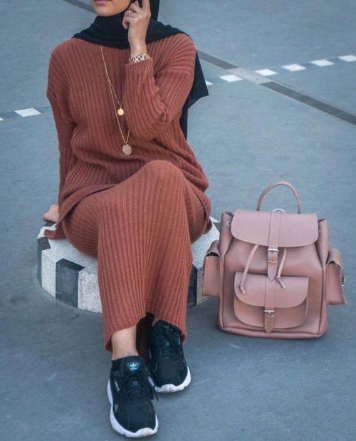 فستان من الصوف المميز