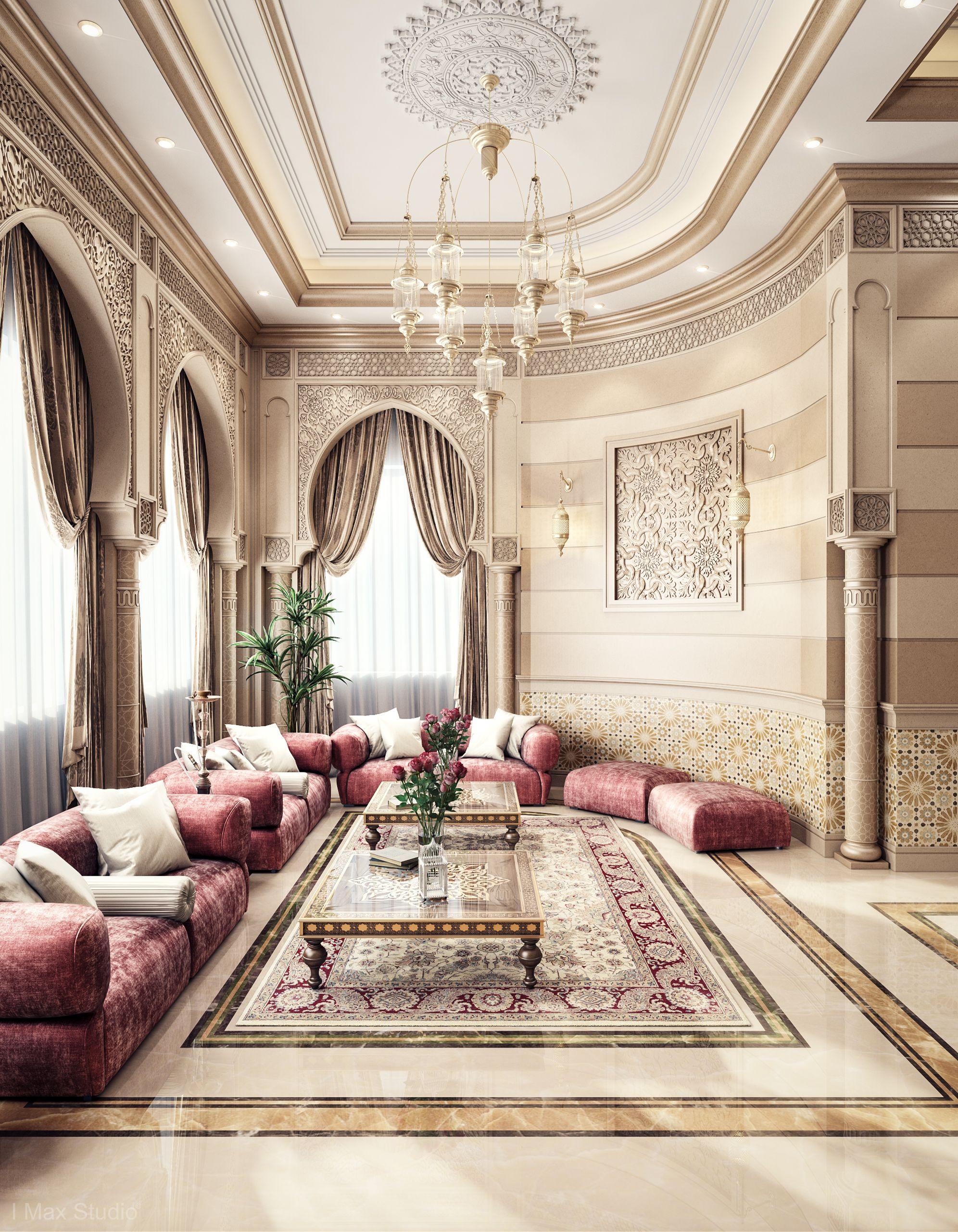 arabian style living room - 736×945