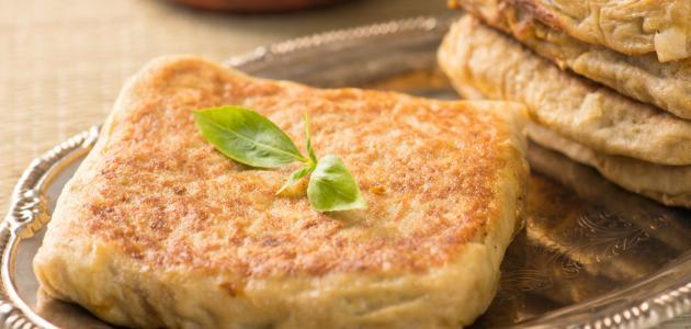 طريقة عمل المطبق الحلو بالجبنة خطوه بخطوه الراقية