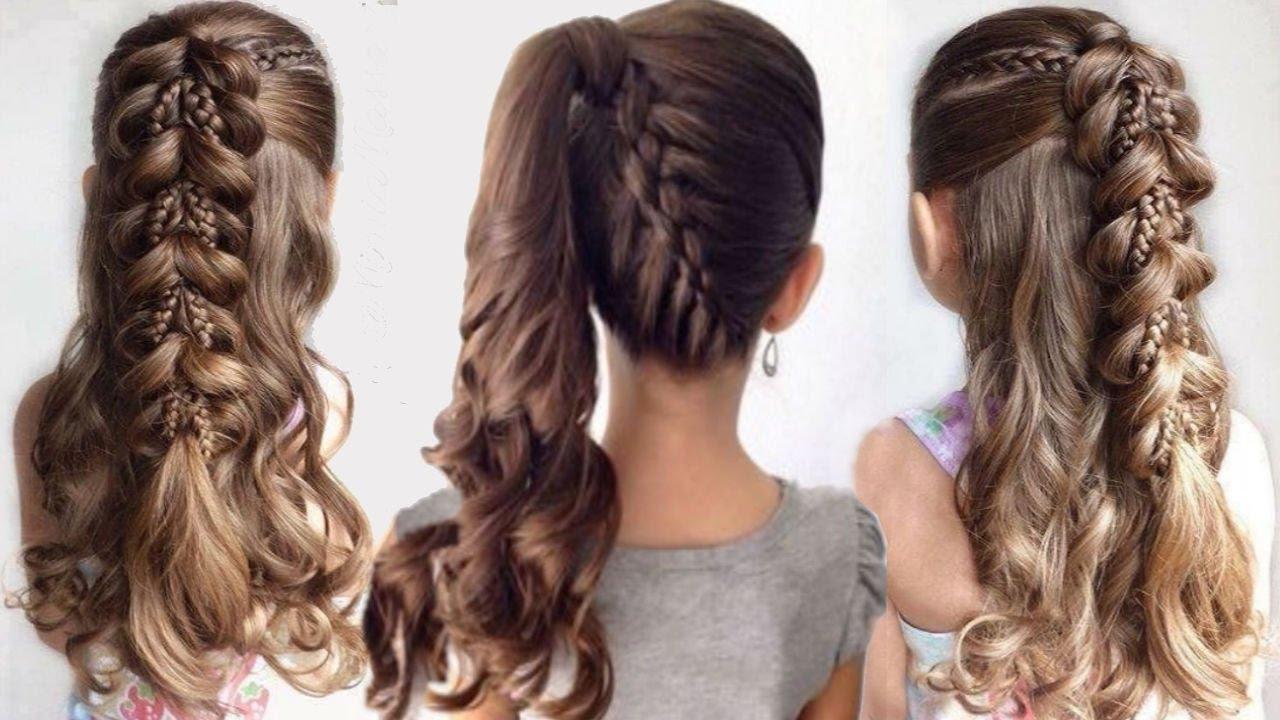 كيف تصففين شعرك قبل الذهاب إلي المدرسة