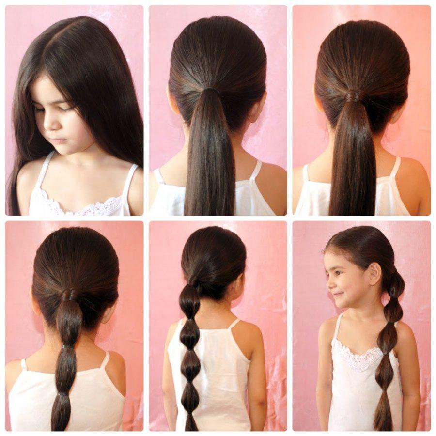 كيف تقومين بتسريح شعر ابنتك الطويل
