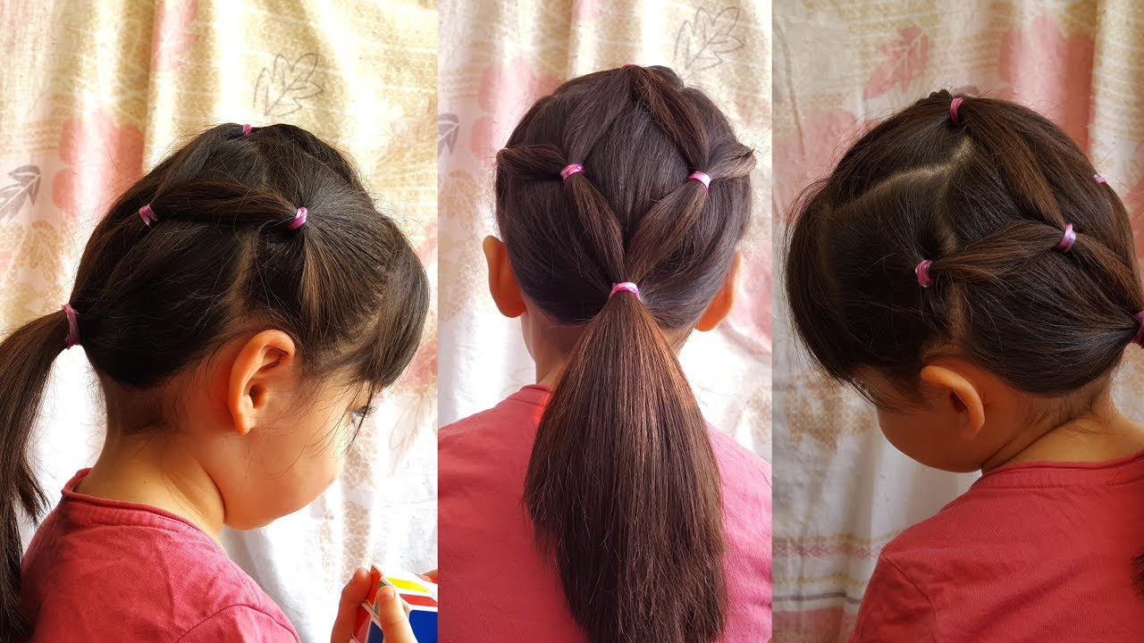 لن تستغرقي وقتًا طويلًا لتسريح شعر ابنتك