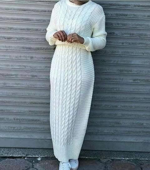 موضة شتاء 2019 والفساتين الصوف المميزة