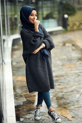 موديلات ملابس الشتاء للمحجبات