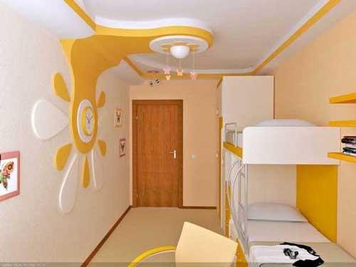 ديكورات جبس بورد للسقف في غرف الأطفال