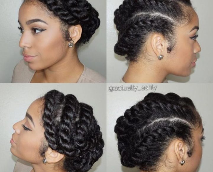 صور أشكال تسريحات شعر سريعة. وبسيطة لصاحبات الشعر الخشن الكيرلي