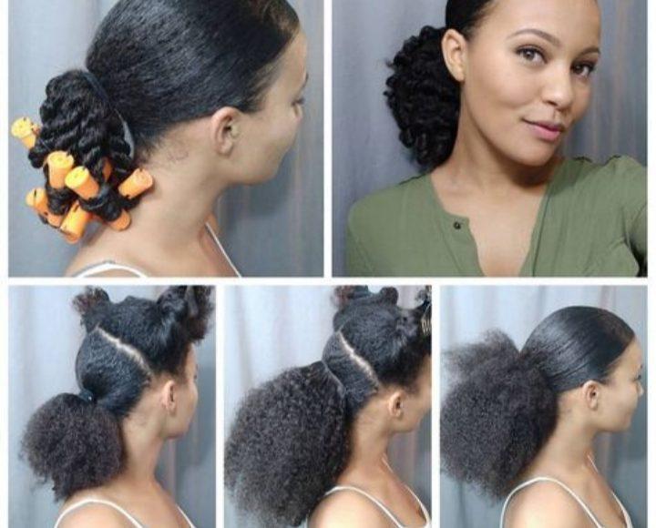 أشكال تسريحات شعر سريعة. وبسيطة لصاحبات الشعر الخشن الكيرلي
