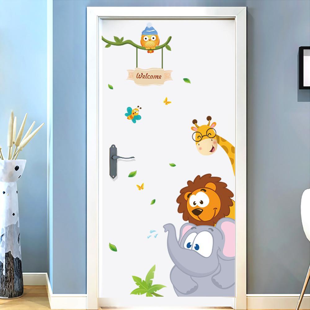 أجمل أشكال أبواب غرف نوم الأطفال 2020