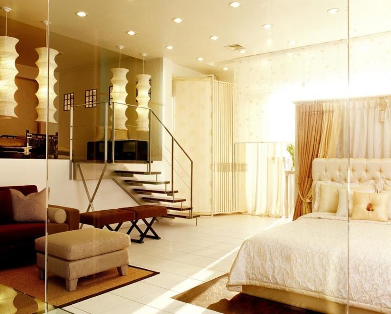 أجمل أشكال غرف النوم الجبس بورد ذات الطابع الرومانسي 2020