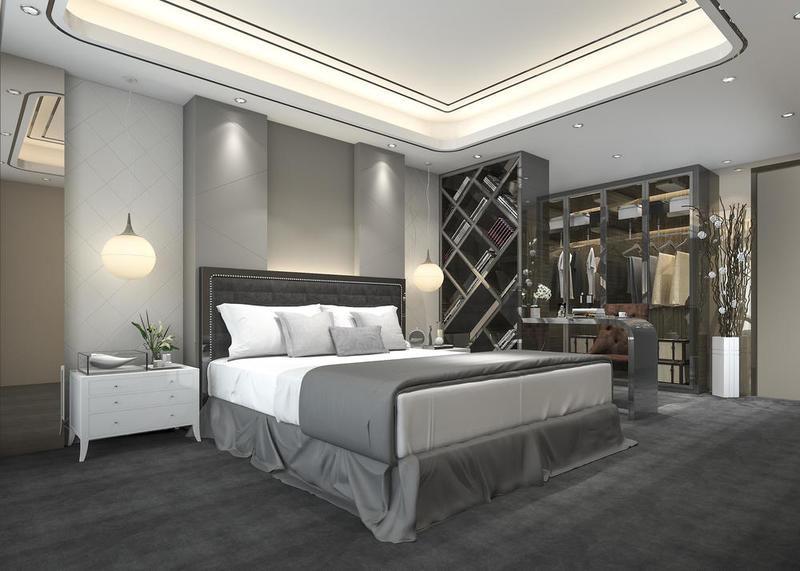 أجمل أشكال غرف النوم المودرن 2020