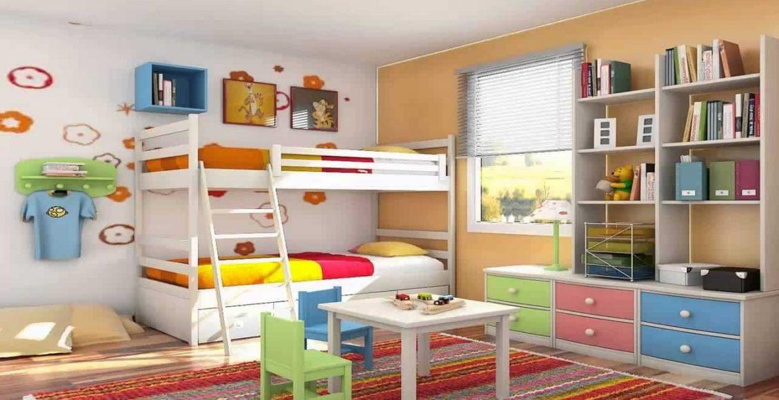 أجمل ديكورات غرف نوم الأولاد المشتركة 2020