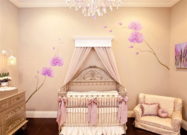 أجمل ديكورات غرف نوم حديثي الولادة 2020