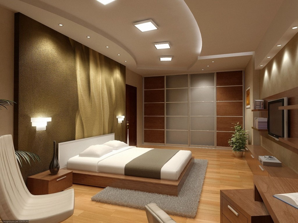 أحدث تصميمات غرف النوم الجبس بورد 2020