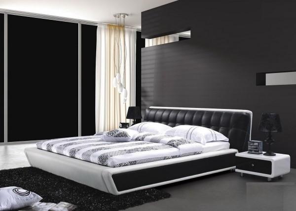 أحدث ديكورات غرف النوم الرصاصي والأسود 2020
