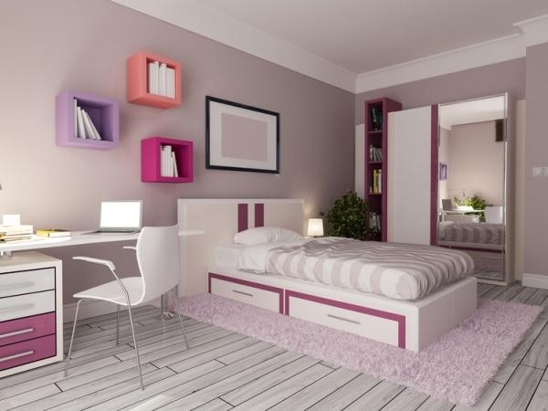 أرقى تصميمات غرف البنات المراهقات موضة 2020