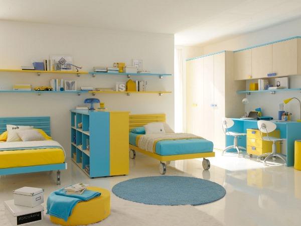 أرقى ديكورات غرف نوم الأطفال المشتركة 2020