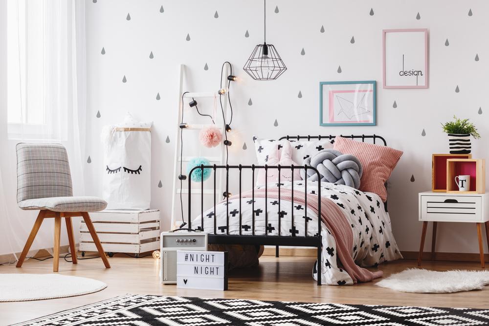 أشكال مميزة لغرف نوم البنات المراهقات