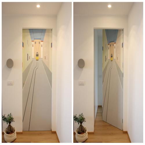 أفكار مميزة لتزيين باب غرفة نوم طفلك