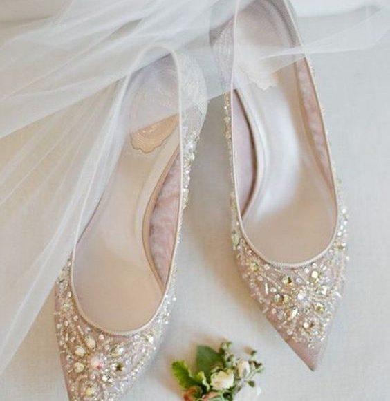 حذاء عروس مودرن
