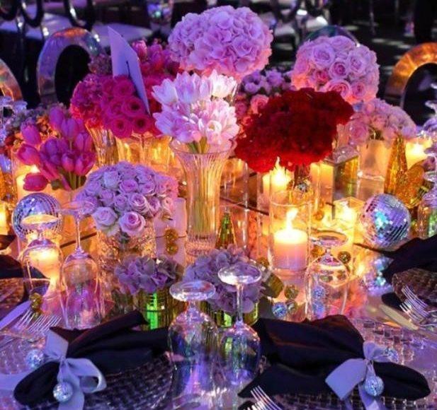ثيمات عروس مزينه بالورد