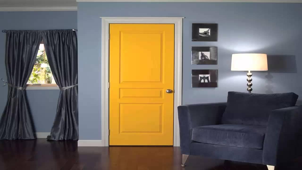 الأبواب الملونة لغرف نوم الأطفال