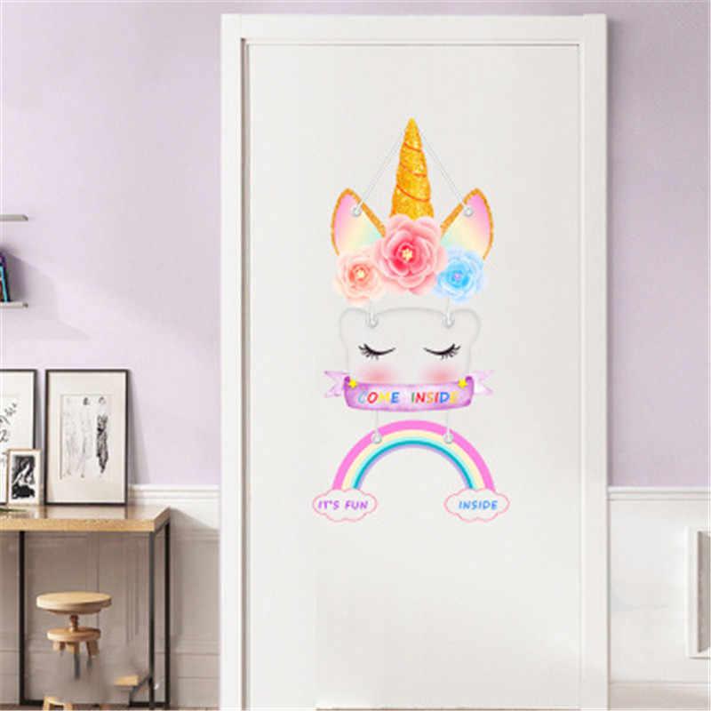 الأفكار المميزة لتصميم أبواب غرف نوم الأطفال 2020