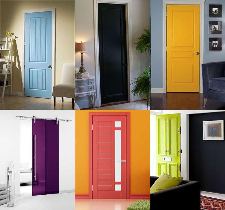 الألوان المختلفة لأبواب غرف نوم الأطفال