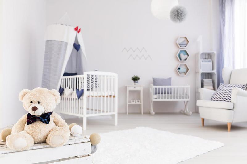الإنارة الجيدة أهم ما يميز غرف نوم الأطفال حديثي الولادة 2020