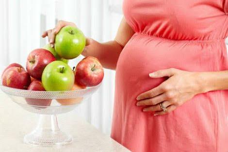 التفاح للمرأة الحامل