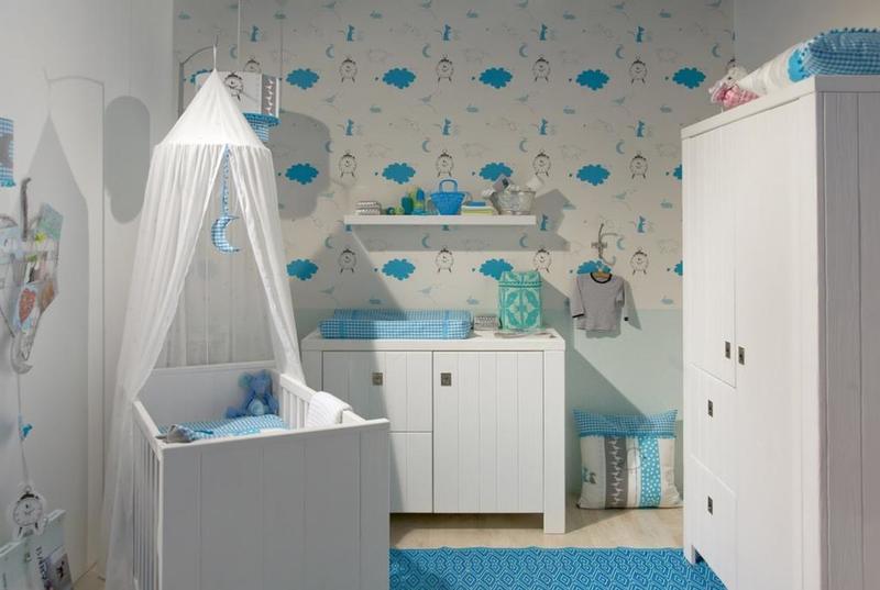 الطابع الهادىء يميز ديكورات غرف نوم الأطفال حديثي الولادة 2020