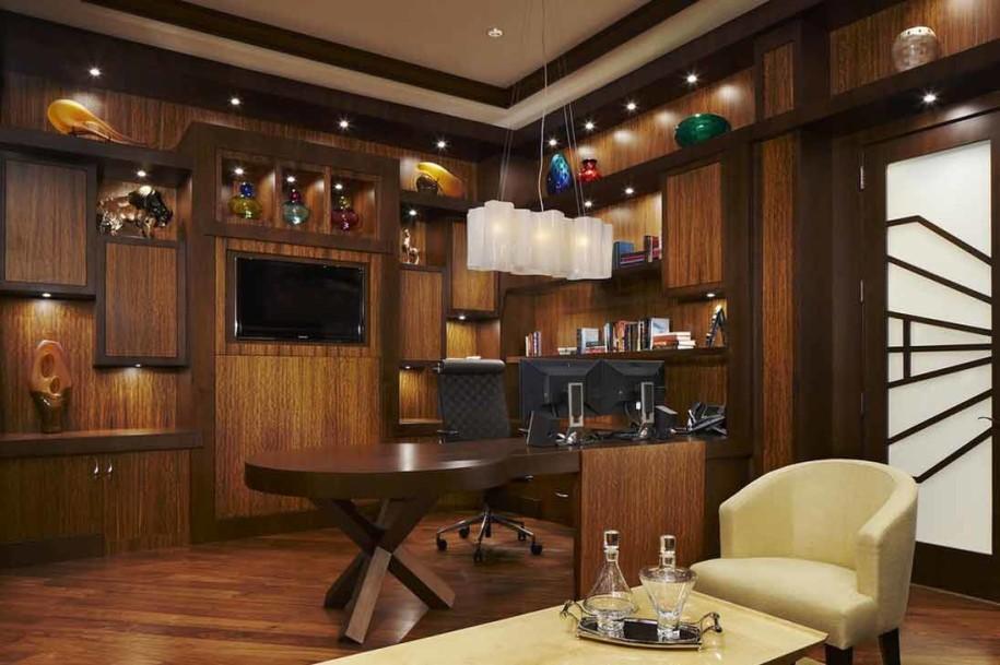 تصاميم مكاتب خشبية مميزة 2020