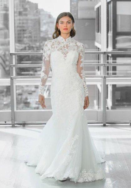 تصاميم مميزة لفساتين الزفاف ذات القبة العالية موضة 2020