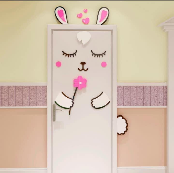 تصميم باب غرف نوم الأطفال