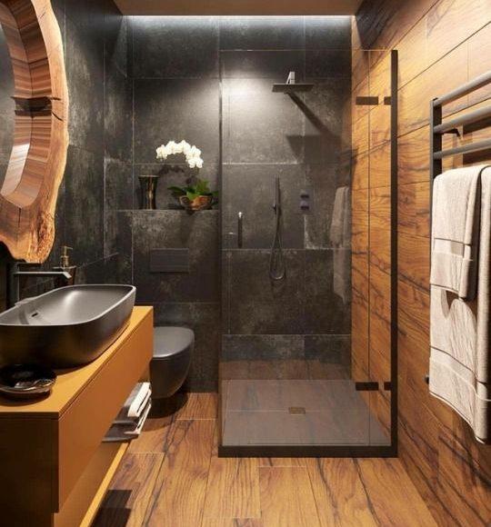 ديكورات حمام مودرن