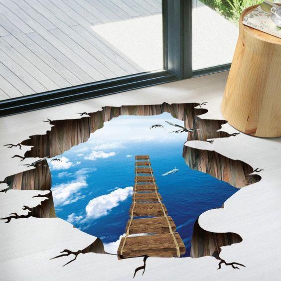 ديكور ثلاثي الابعاد لغرف المعيشه