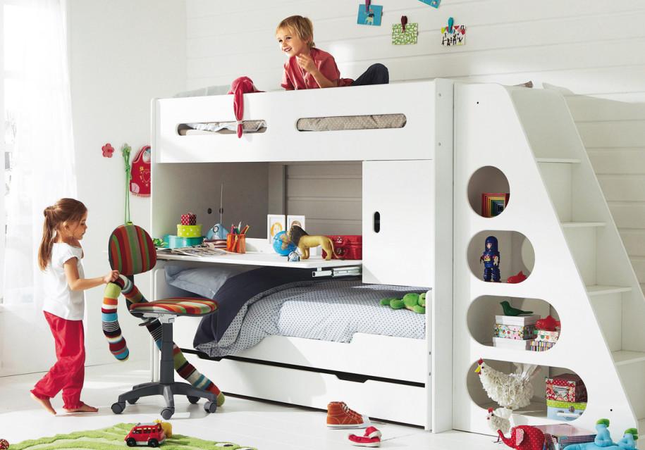ديكور مميز لغرف نوم الأطفال المشتركة
