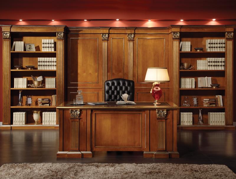 صورة لديكور خشبي للمكاتب 2020