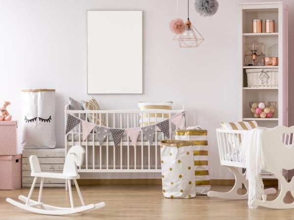 صورة لغرفة نوم أطفال حديثي الولادة لعام 2020