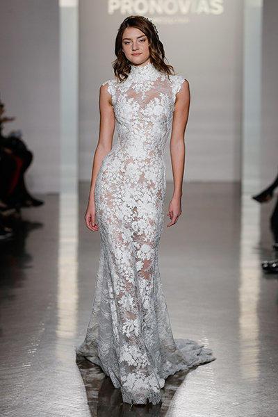 صور لفساتين زفاف ذات قبة عالية موضة 2020