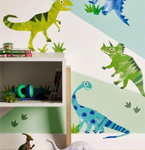 رسومات على حائط غرف اطفال