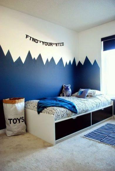 حوائط غرف النوم