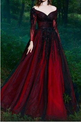 فستان سهره طويل