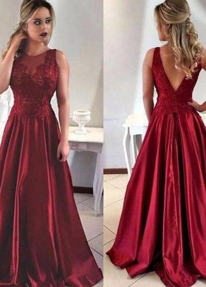 فستان سهره واسع