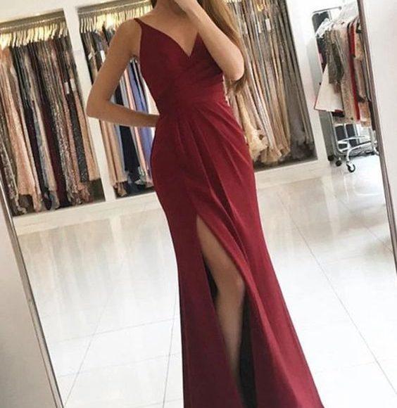 فستان سهره احمر