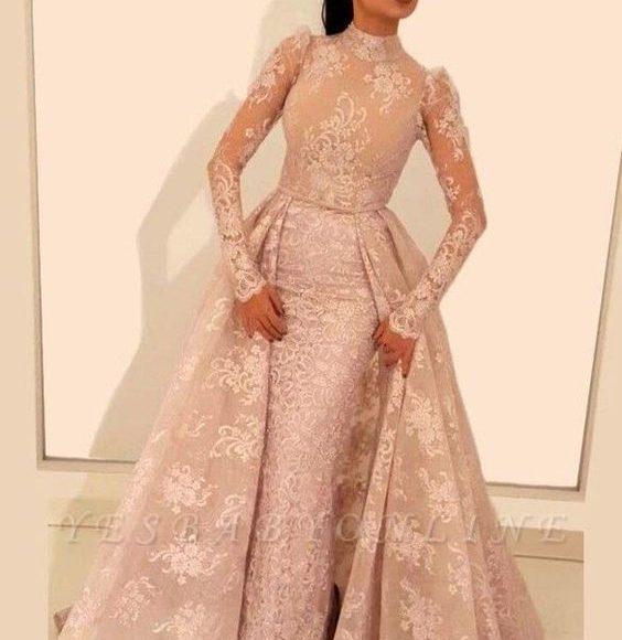 فستان طويل مودرن