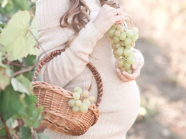 العنب للحامل