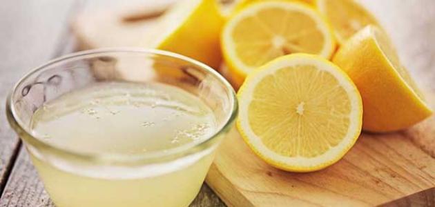 زيت الجلسرين والليمون للوجه