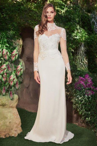 ماركات الأزياء العالمية تبدع في تصميم فساتين الزفاف ذات القبة العالية